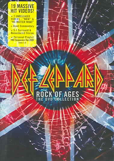 ROCK OF AGES:DEFINITIVE COLLECTION BY DEF LEPPARD (DVD)